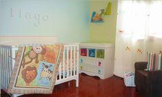 Tiago's safari nursery