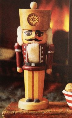 An identical Nutcracker is what started our collection. Such a special piece.