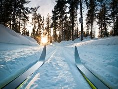 I wish it would snow so I could go cross country skiing!