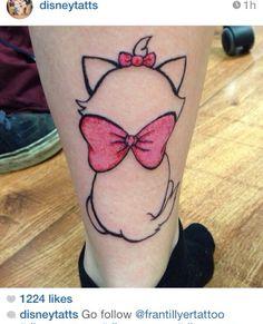 Aristocat Disney tattoo