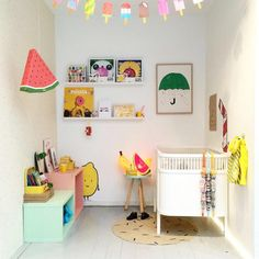 colors in a kid's room