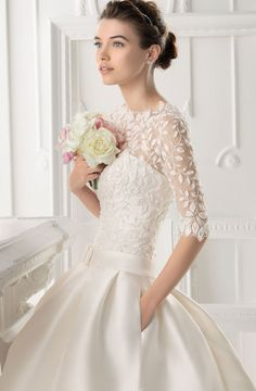 Aire Barcelona 2014 Bridal Collection | bellethemagazine.com
