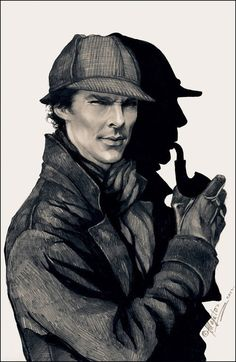 BAHHH THIS IS AWESOME Sherlock fanart