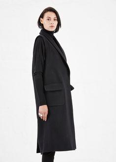 Totokaelo - Rachel Comey Black Memento Coat - $660.00