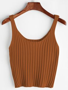 Shop Ribbed Tank Top online. SheIn offers Ribbed Tank Top & more to fit your fashionable needs.