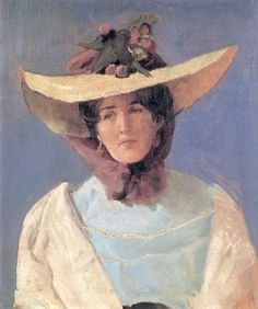 Actress Agnes Mowinkel, 1904 by Christian Krohg on Curiator, the world's biggest collaborative art collection. Spanish Artists, Dutch Artists, French Artists, Edvard Munch, Art Deco Artists, Artist Art, Skagen, Lund, Hans Thoma