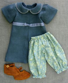 Petit Gosset Doll Outfit for 18 inch Doll