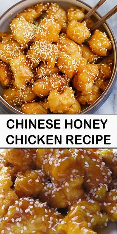 chinese honey chicken recipe - Jump to Recipe Print Recipe Until now I have only tried honey chicken at the local Chinese buffets - Easy Chicken Dinner Recipes, Easy Meals, Recipe Chicken, Honey Chicken Recipes, Chinese Honey Chicken, Honey Sesame Chicken, Asian Chicken, Print Recipe, Asian Cooking