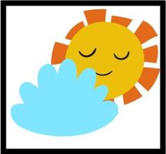 Pogoda - obrazki oraz plansza do pobrania - Pani Monia Tweety, Clip Art, Fictional Characters, Bujo, Day Planners, Fantasy Characters, Pictures