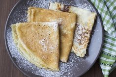 Irish recipes for breakfast, lunch, dinner, and delicious deserts. Irish Recipes, Almond Recipes, What Is Pancake Day, Pancake Recipe Ingredients, How To Make Pancakes, Delicious Deserts, Gluten Free Treats, Brownie Recipes, Sweets