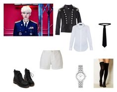 """""""BTS - DOPE Suga"""" by skylar154 on Polyvore featuring Pierre Balmain, RED Valentino, Piazza Sempione, Citizen and Uma"""