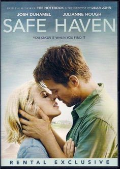 Safe Haven DVD ~~ Julianne Hough ~~ Great love story with suspense that's based on the NYT Bestseller by Nicholas Sparks!!  :o)