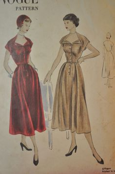 Vogue 3302 | 40s Dress Pattern
