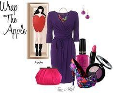 """""""Apple Shape"""" by tara-akiri on Polyvore"""