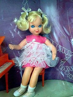 Vintage Tutti Doll Melody in Pink | New in Box $510 May 2014 / eBay