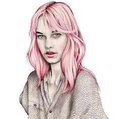 Love Pink Hair.