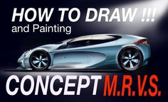 HOW to DRAW  - The Concept Future Design (speed Draw)