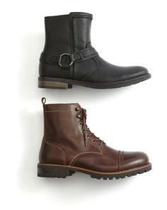 GBX jax & St. John's Bay clay men's boots