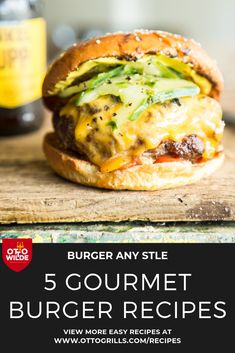 Get your burger on in the summer sun! Juicy, cheesy, melt-in-your mouth meat — all the good things wrapped in a bun. Enjoy different kinds of delicious burgers straight off your Otto Grill. Check 'em out Grilled Burger Recipes, Gourmet Burgers, Grilled Meat, Spring Grilling Recipes, Grill Party, Delicious Burgers, Brunch Menu, Good Burger, Summer Sun