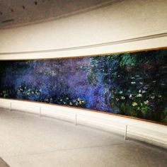 Built in 1852 the Musée de l'Orangerie in Paris, Île-de-France, houses several Water Lilies murals by Claude Monet as well as works by Paul Cézanne, Henri Matisse, Amedeo Modigliani, and Pablo Picasso.