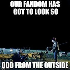 I think this goes for every fandom