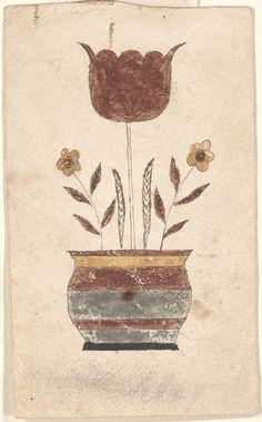 hooking pattern?    Reward of Merit (Belohnung) Pennsylvania, ca. 1820 - 1840