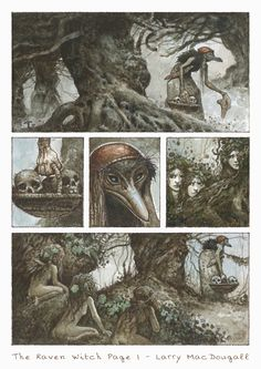 The Raven Witch - Graphic Novel Page by bridge-troll.deviantart.com on @deviantART
