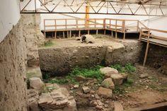 Termas romanas, Roman bath, Évora