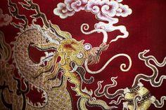 Shu brocade weaved in China's Chengdu