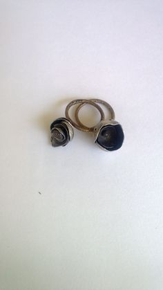 Gold and silver rings by Maria Vasiliou from Maria Vasiliou Kosmima.