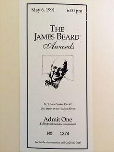 The James Beard Awards: An Insider Explains How It All Began - Eater
