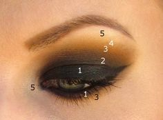 Smokey Eye with MUG shadows