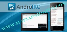 IRC for Android â?? v2.1.33 Apk   IRC for Android  is the Premier Android Internet Relay Chat Client. Worlds better than the rest. Previously known as Android IRC.  Supports:  Multiple Servers  Stays connected in background  SSL  SASL  Nick Completion  Notifications  Blowfish Encryption  IRC/mIRC/ANSI Colors  User List  Channel List  Supports BNCs (tested ZNC and PsyBNC)  Individual Windows for Messages and Channels  Timestamps  Logging to SD Card  Ignore System  Quiet Time  Codepage support…