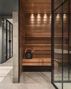 Om oss och vad vi gör - information om företaget - Smidesrum Sauna Design, Home Gym Design, Modern House Design, Basement Sauna, Sauna Room, Home Spa Room, Spa Rooms, Modern Saunas, Deco Spa