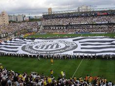 Santos FC, Vila Belmiro, Brazil
