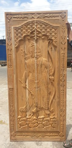 Wood Doors, Armoire, Furniture, Home Decor, Wooden Doors, Clothes Stand, Wooden Gates, Decoration Home, Closet