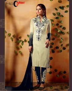 Style yourself with salwar suit and look like a #Bollywood diva Shop designer #salwarsuit