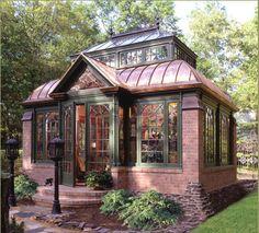 Tiny Victorian house.
