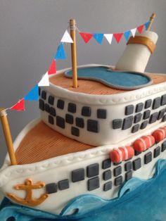 Cruise ship cake ❤️