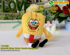 Souvenir Ulang Tahun Boneka Spongebob WA/SMS/TELP: 0899-5255-896 #SouvenirUlang #DistributorUlang #desainundanganPernikahan #souvenirMurah