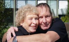 John's mother, Erna and his little brother, Ron
