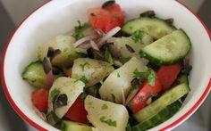 Italian Style Potato And Cucumber Salad Recipe