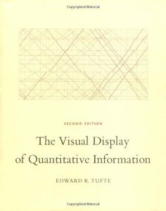 The Visual Display of Quantitative Information by Edward R. Tufte  Great history and actual science of graphing: