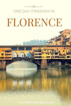 Ponte Vecchio - Guide and tips to visiting Florence in one day - Florence with kids - Italy with Kids