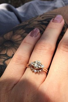Unique Engagement Rings That Wow ❤ See more: http://www.weddingforward.com/unique-engagement-rings/ #weddingforward #bride #bridal #wedding