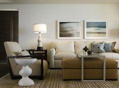 Maui Condo - contemporary - living room - hawaii - Leverone Design, Inc.