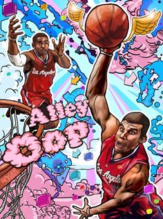 """Chris """"CP3"""" Paul & Blake """"Donut Man""""* Griffin  *My nickname for Griffin because he's always DUNKIN'!!!"""
