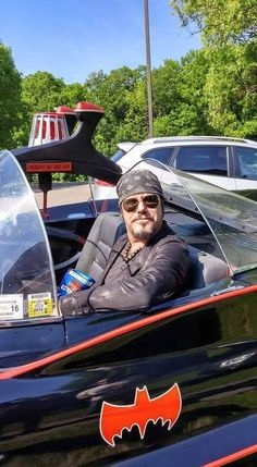 Jeff Martin of the Tea Party in the Batmobile. Batmobile, Tea Party, Musicals, Dads, Rock, Style, Swag, Stylus, Fathers