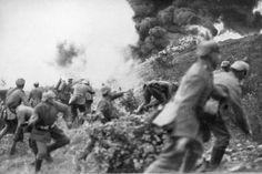 Deutsche Infanteristen, Verdun 1914