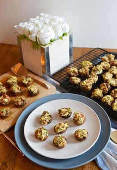Toronto Food Blog with easy, simple and the best recipes anyone can make. A food blog bringing you a delicious bacon stuffed mushroom appetizer recipe!